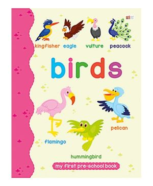 Art Factory Birds Pre School Book- Birds