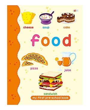 Art Factory Food Pre School Book- Food