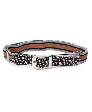 Babyhug Belt Star Print - Brown