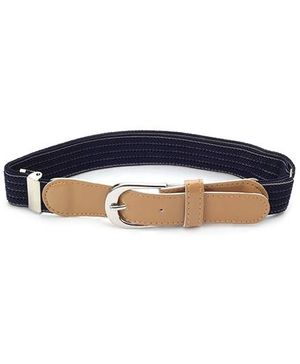 Babyhug Solid Color Belt - Black And Peru