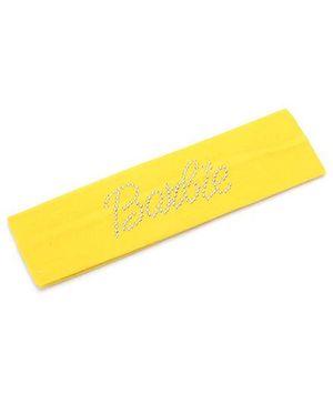 Barbie Studded Headband - Yellow