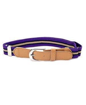 Babyhug Belt Stripes Pattern - Peru And Purple