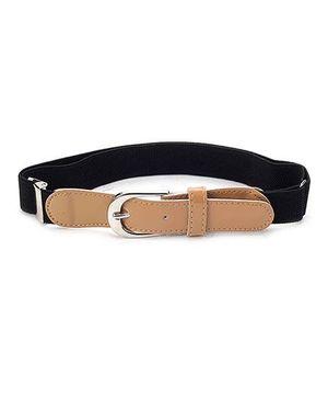 Babyhug Belt Solid Color - Black And Peru