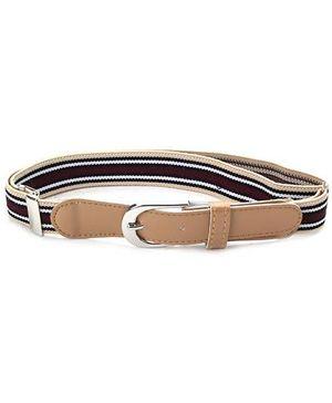 Babyhug Belt Multi Stripes - Peru Black And White