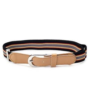 Babyhug Belt Stripes Pattern - Peru Black And Yellow