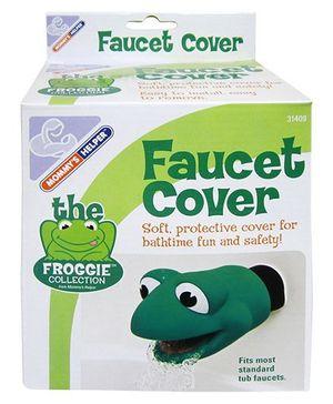 Mommy's Helper Froggie Spout Cover - Green