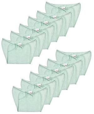 Babyhug Cloth Nappy With String Mini - Pack Of 12