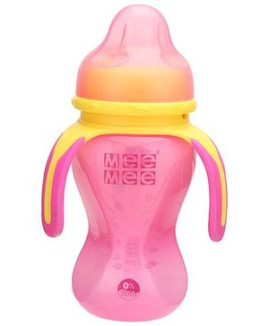 Mee Mee Multi Grasp Drinking Cup Pink - 250 ml