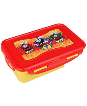 Thomas Tic Tac Lunch Box- Red