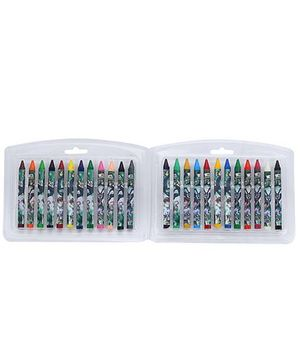 Ben 10 Triangular Crayons - 24 Shades