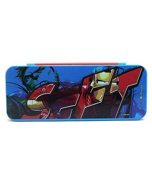 Avengers Pencil Box - Blue And Red