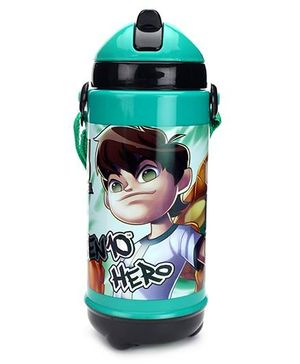 Ben 10 Sipper Bottle Green And Black - 420 ml