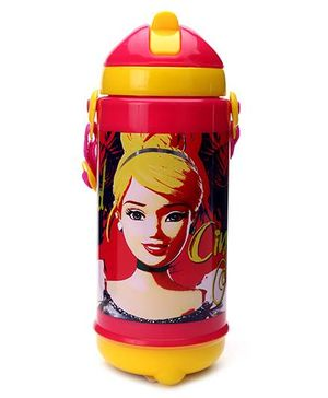 Disney Cinderella Sipper Bottle - Red And Yellow