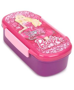 Barbie Lunch Box- Pink And Purple