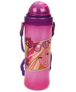 Barbie Eco Bottle 350 Ml - Pink And Purple