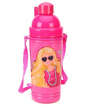 Barbie Eco Sipper Water Bottle Large Pink - 550 ml
