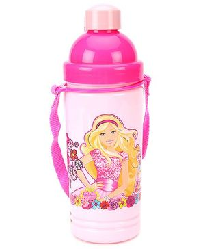 Barbie Eco Sipper Water Bottle Large Light Pink - 550 ml
