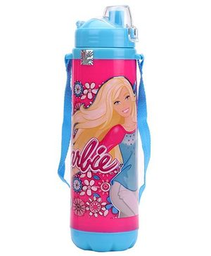 Barbie Double Walled Water Bottle - Pink & Blue