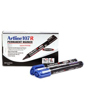 Artline Permanent Marker EK107R - Blue