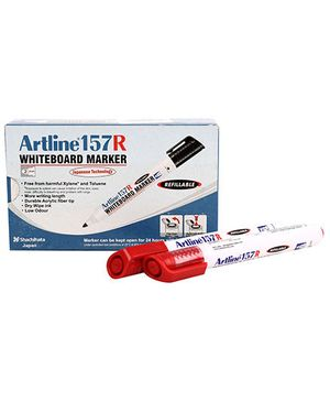 Artline Whiteboard Marker EK157R - Red