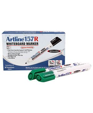 Artline Whiteboard Marker EK157R - Green