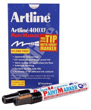 Artline Paint Marker EK-400XF - Black
