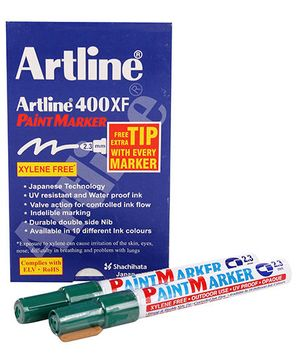Artline Paint Marker EK-400XF - Green