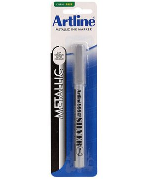 Artline Metallic Ink Marker EK-999XF - Silver