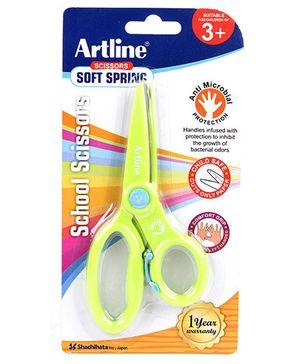 Artline School Scissors Soft Spring - Green