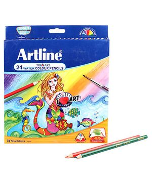 Artline Water Soluble Pencils - Pack of 24