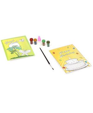 Awals  Greeting Card Making With Glitters - Multi Colour