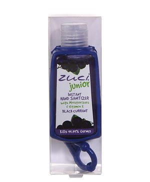 Zuci Junior Hand Sanitizer Black Currant And Bag Tag - 30 ml