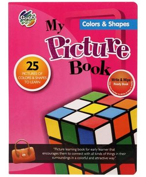Chitra My Picture Book Colours And Shapes - English