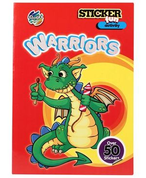 Chitra Sticker Fun Activity Book Warriors - English