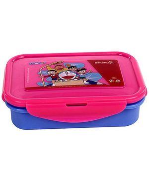 Doraemon Lunch Box - Dark Pink And Blue