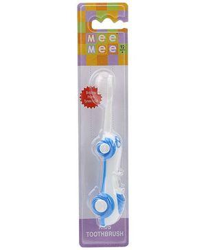 Mee Mee Car Shaped Kids Toothbrush - Blue