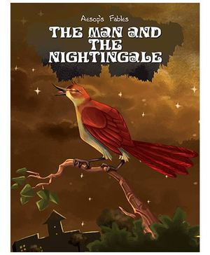 Aesop's Fables Stories The Man And The Nightingale - English