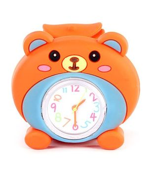 Slap Style Watch Bear Design - Orange