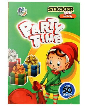 Chitra Fun Activity Sticker Book - Party Time - English