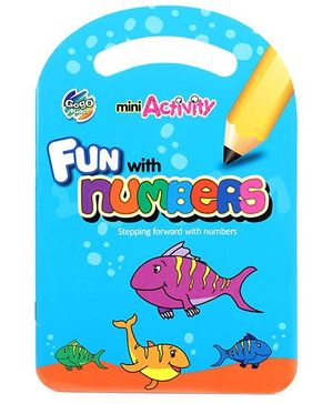 Chitra Mini Activity Book - Numbers - English