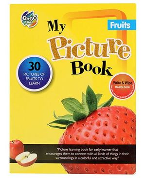 Chitra My Picture Book Fruits - English