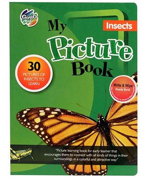 Chitra My Picture Book Insects - English