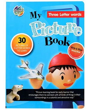 Chitra My Picture Book Three Letter Words - English