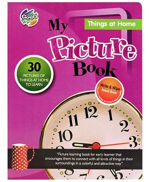 Chitra My Picture Book Things At Home - English