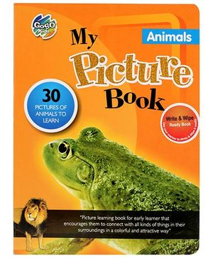 Chitra My Picture Book Animals - English