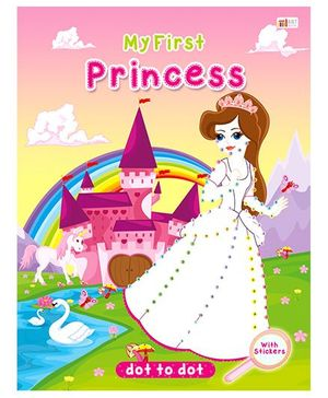 Princess Dot To Dot - English