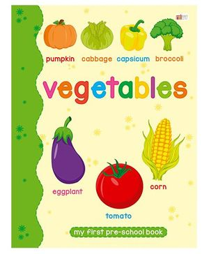 Vegetable Book - English