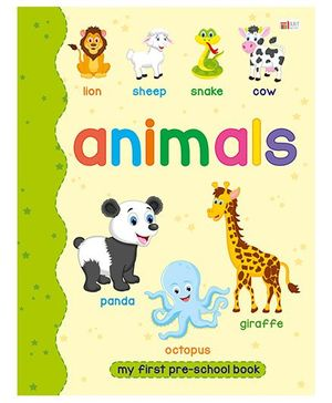 Animals Book - English