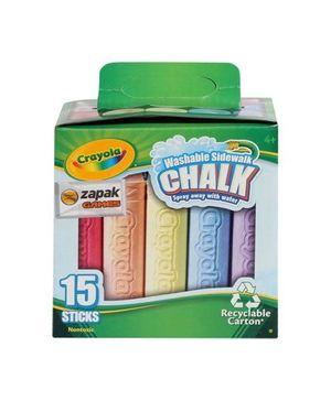 Crayola - Sidewalk Chalk Carton