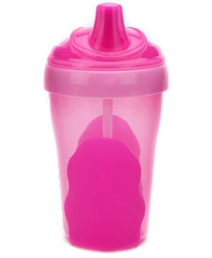 Vital Baby First Straw Cup 300ml - Pink